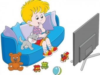 ребёнок и телефизор
