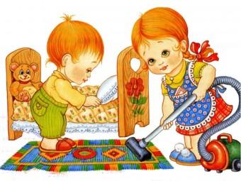 трудолюбивые-детки