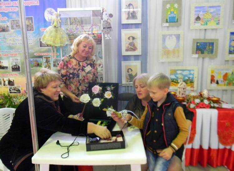 Детский сад «Рождественский» принял участие в ежегодной православной выставке «Ангел святого Белогорья».