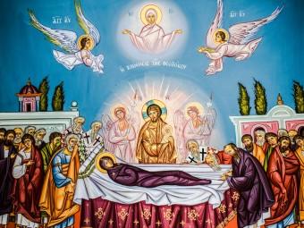 3100341-byzantine-style_christianity_church_cyprus_iconography_orthodox_painting_panagia_protaras_religion_the-assumption-of-virgin-mary