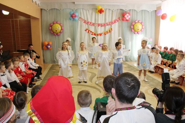 Детский сад «Рождественский» отметил семилетие